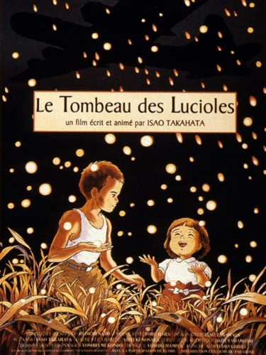 Le Tombeau des lucioles, film d'animation, Isao Takahata, guerre
