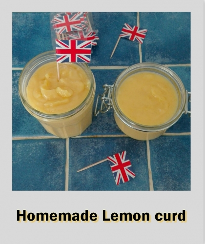 lemon curd, homemade, citron