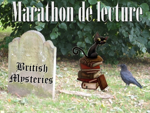 Read-A-Thon, British Mysteries, Marathon de lecture, week-end de lecture, challenge british mysteries