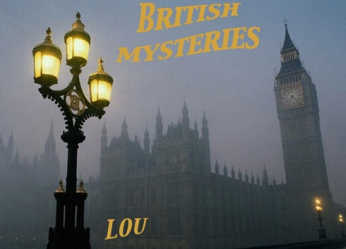 logo, British Mysteries Month, Lou