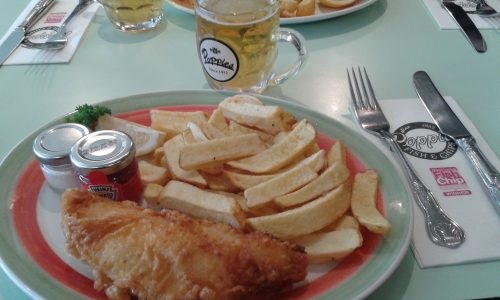 londres,vacances, fish and chips