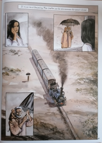 india dreams,maryse & jean-françois charles,bd,inde,les étapes indiennes
