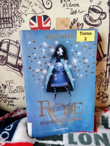 Rose et la princesse disparue, holly webb, roman, littérature jeunesse, challenge british mysteries