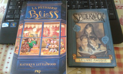 la pâtisserie bliss,kathryn littlewood,les chroniques de spiderwick,holly black,tony diterlizzi,romans,littérature jeunesse