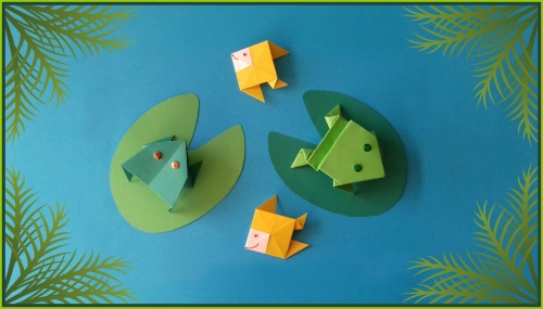 origami, pliages, mare,