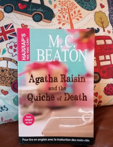 agatha raisin and the quiche of death,m.c. beaton,roman,hommage,challenge british mysteries