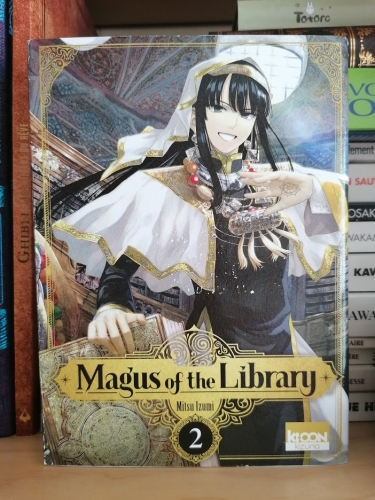 Magus of the library, tome 2