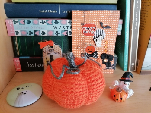 citrouille, crochet, halloween
