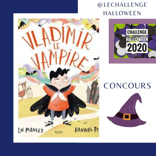vladimir le vampire, concours, à gagner, le challenge halloween 2020, halloween